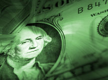 US dollar note Stock Images