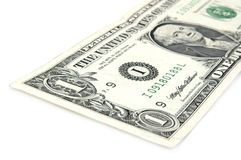 US Dollar Note. US One Dollar Note Stock Images