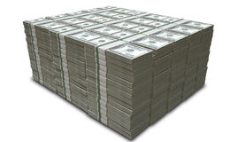 US Dollar Notes Pile Royalty Free Stock Photo
