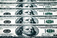 Us-dollar i global ekonomi Royaltyfri Bild