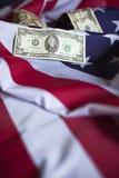 Amerikanekonomi Fotografering för Bildbyråer