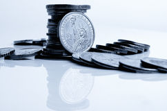 US dollar rate to other currencies. Royalty Free Stock Images