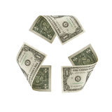 US Dollar Recycle Symbol Royalty Free Stock Image