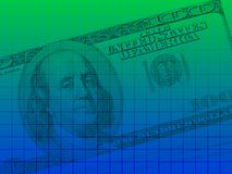 US dollar series 2 Stock Image