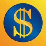 US dollar sign. Vector icon stock illustration