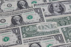 US-Dollar Tapete Lizenzfreies Stockfoto