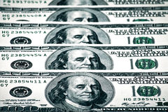 US-Dollar in der globalen Wirtschaft Lizenzfreies Stockbild