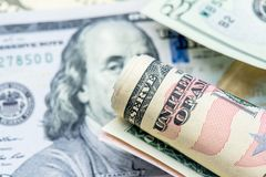 US-Dollar Währung Lizenzfreie Stockbilder