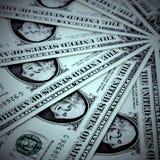 US dollarbakgrund Arkivfoton