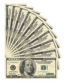 US Dollars Stock Image