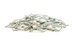 US Dollars. Close up for background Royalty Free Stock Photos
