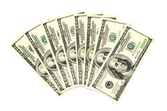 US dollars Royalty Free Stock Photography