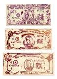 US Dollars. Photo of 2D drawing Royalty Free Stock Image