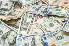 US Dollars as background Stock Image