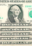 US dollars background Royalty Free Stock Images