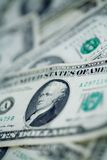 US dollars background artistic processed Royalty Free Stock Image