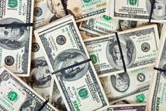 US dollars bank notes Stock Photography