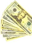 US dollars bill Royalty Free Stock Photography