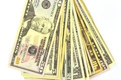 US dollars bill Royalty Free Stock Photos