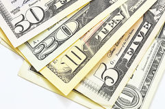 US dollars bill Royalty Free Stock Images