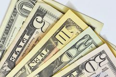 US dollars bill Stock Photography