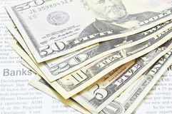 US dollars bill Stock Image