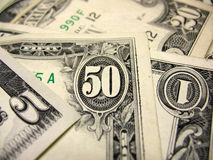 US dollars bills Royalty Free Stock Images
