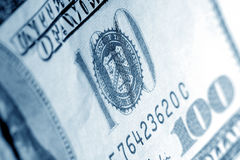 Us dollars close up Royalty Free Stock Photography
