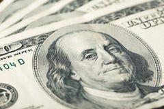 Free US Dollars Close Up. One Hundred Dollar Bills Stock Photo - 171212740