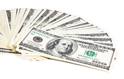 US dollars composition Stock Image
