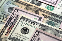 US Dollars Royalty Free Stock Photos