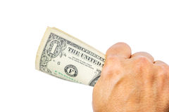 US dollars on hand. Royalty Free Stock Photography