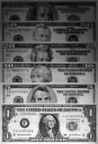 US dollars money background Royalty Free Stock Images