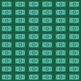 US dollars pattern Royalty Free Stock Photos