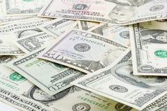 US dollarsedel Arkivbilder