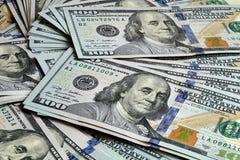 US dollarSeried bakgrund 2009 Arkivfoto