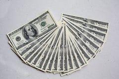 US dollarvaluta Royaltyfri Bild