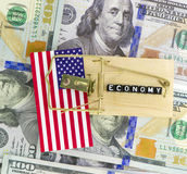 US economic stagnation concept Stock Photography