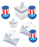 US election Stock Photography