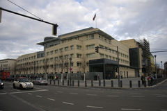US Embassy Berlin Stock Photo