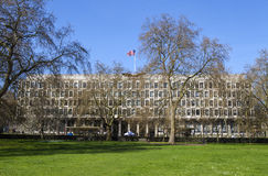 US Embassy in London Stock Image