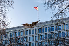 US embassy in London Stock Photography