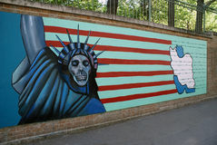 US Embassy in Tehran Stock Photography
