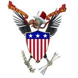 US Emblem - Vulture 1.  Royalty Free Stock Images