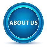 About Us Eyeball Blue Round Button vector illustration