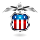 US fantasy badge Stock Images