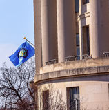 US Federal Trade Commission FTC Flag Washington DC Stock Photos