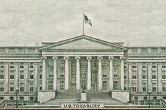 US-Finanzministerium-Washington DC Lizenzfreies Stockbild