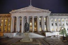 US-Finanzministerium in Washington DC Lizenzfreies Stockbild