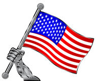 US Flag Stock Image